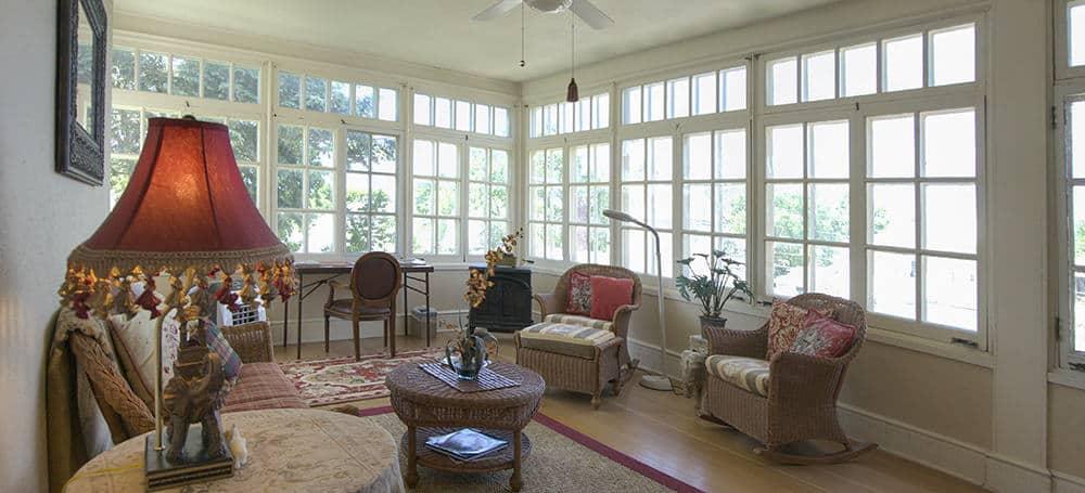 Durand Suite four-season porch-sitting room